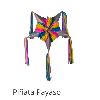 PIÑATA MEXICAINE PLIABLE PAYASO